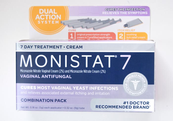 Monistat 7 Dual Action System 7 Day Treatment The Period Blog