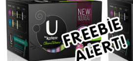 Freebie Alert: U By Kotex is giving away samples!