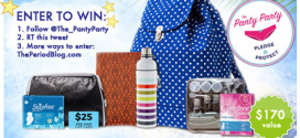 GIVEAWAY! Win a Stayfree Summer Prize Pack! ($170 value)