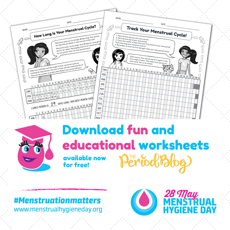 Mhday 2017 Download Print Your Menstrual Hygiene Worksheets The. Menstrual Hygiene Worksheets. Worksheet. Worksheets For Teaching Hygiene At Mspartners.co