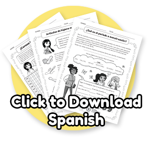 download the period blog worksheets in spanish