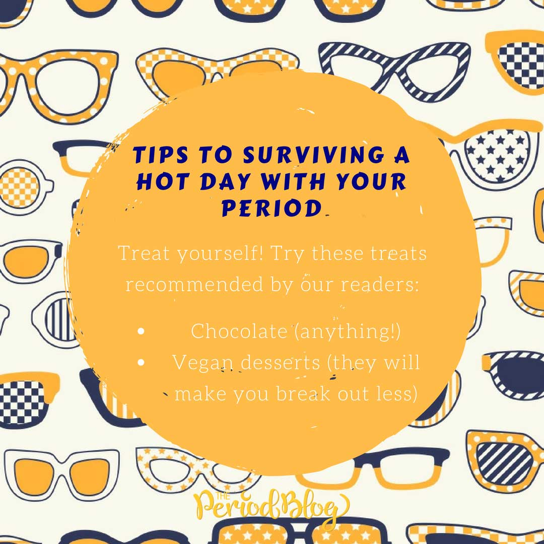 period tips to surviving a hot day with your period