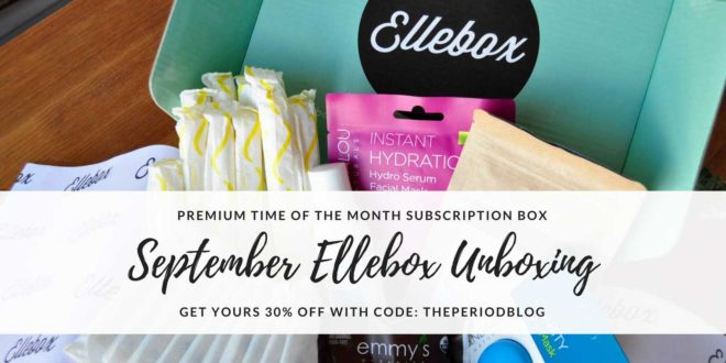Ellebox September Unboxing Photos & Review – 30%OFF with code: THEPERIODBLOG