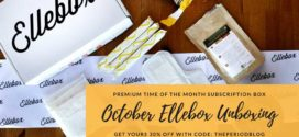 Ellebox October Unboxing Review – 30%OFF code: THEPERIODBLOG