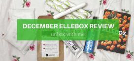 December Ellebox Review – Unbox with me!