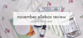 November Ellebox Review – Unbox with me!